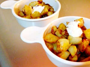 """Cheesy"" Fiesta Potatoes"